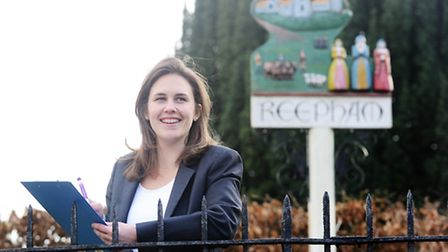 Kate Pinnock is part of the team that is pulling together an economic strategy for Reepham. Picture: