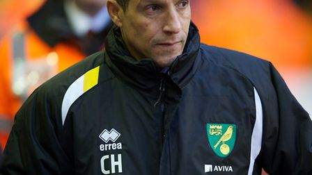 Norwich City boss Chris Hughton was a frustrated man after watching his side lose 5-0 in the Premier