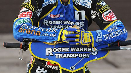 As you were: Niels-Kristian Iversen will wear the number one race jacket for King's Lynn Stars next