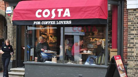 The new Costa coffee shop has opened in Southwold.