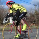 Don Saunders was fastest tricyclist in the CC Breckland 10 near Hingham.
