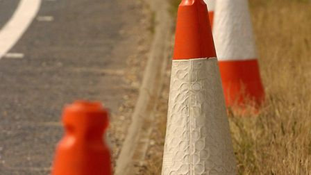 Drivers on the A11 have been urged to be cautious after reports of a broken down vehicle.