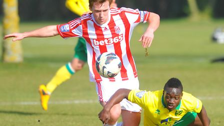 Jamar Loza is likely to feature for Norwich City Under-21s just two days after featuring against Sto