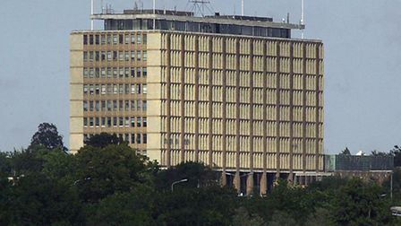 A security review has been carried out at Norfolk County Council after an intruder was able to wande