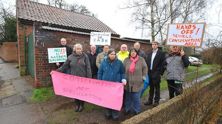 Neighbours in St Clements Hill, who along with the nearby school and others, are battling to stop tw