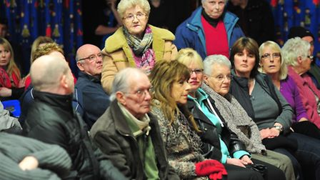 Parents and residents of Carlton Colville primary school hold a public meeting to discuss the conges