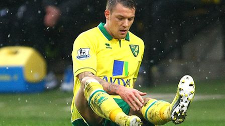 Injured Norwich midfielder Anthony Pilkington (hamstring) will miss this weekend's Premier League tr
