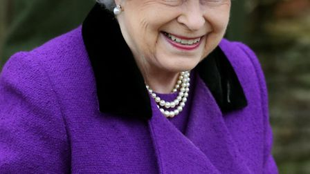 File photo dated 03/02/13 of Queen Elizabeth II, who has been admitted to the King Edward VIIs Hospital, London, with...