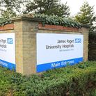 General view of the James Paget University Hospital at Gorleston, NorfolkOctober 2011Picture: James
