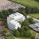 Aerial pic of the Norwich Research Park Innovation Centre.CREDIT: Mike PageFor: Jon Welch