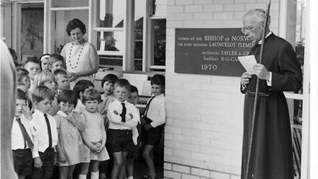 An extension to Cringleford Primary School is opened in the1970s.