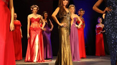 The dress rehearsal ahead of the Miss Universe Norfolk 2013 final at Dunston Hall Hotel on Sunday, F