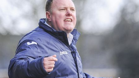 King's Lynn Town boss Gary Setchell, pictured during his side's win on Saturday, will have to make c