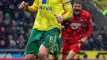 Grant Holt sees his stoppage time penalty saved. Picture: Paul Chesterton / Focus Images