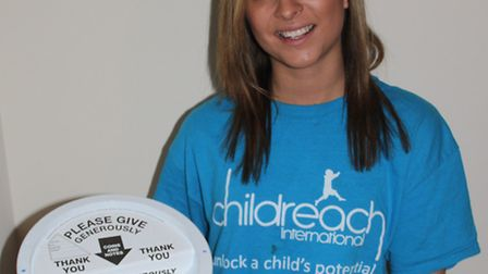 Remie Grice - fundraising for a charity trip to Africa to help build a school.