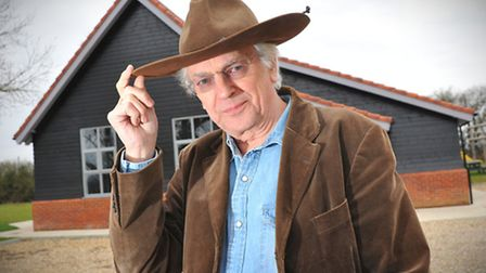 Organiser Phil Hardy prepares for a festival of Western films which is taking place in Weston Longvi