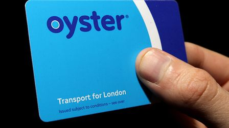 File photo dated 21/09/08 of an Oyster pre-pay travelcard, more commuters will be able to use the Oy