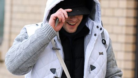 Taurius Lekavicius, 24, of Beccles Road, Gorleston arriving at Great Yarmouth Magistrates Court. P