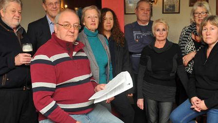 Meeting of the group opposed to Tesco turning the Ram pub into an Express store in Brundall.Photo: B