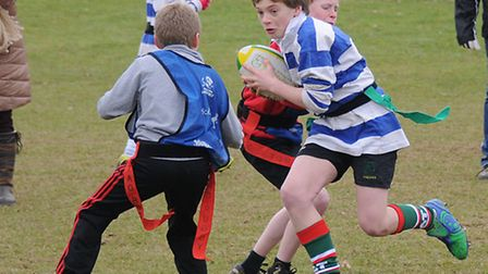 North Norfolk primary schools tag rugby tournament at North Walsham Rugby Club. Bure Valley Primary
