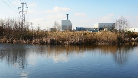 The proposed site of the incinerator at Saddlebow. Picture: Ian Burt