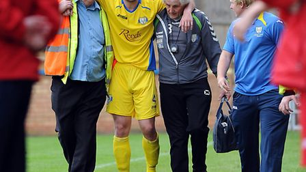 Stuart Wall, middle, is running again after his knee operation. Picture: Matthew Usher.