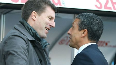 Swansea City manager Michael Laudrup is hoping for at least a point at Carrow Road.