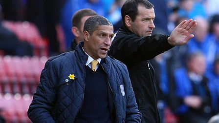 Chris Hughton insists there were positives to take from Wigan to build on ahead of the Swans' Carrow