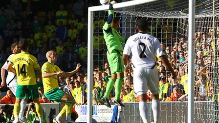Shot-shy Norwich City will be hoping to give Michel Vorm another uncomfortable afternoon on Saturday