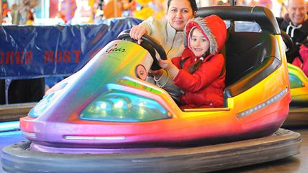 The Easter fair taking place over four days in Great Yarmouth.April 2013.Picture: James Bass
