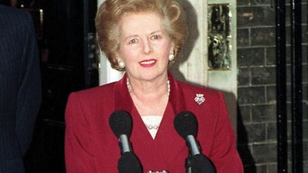 Baroness Thatcher died this morning following a stroke.