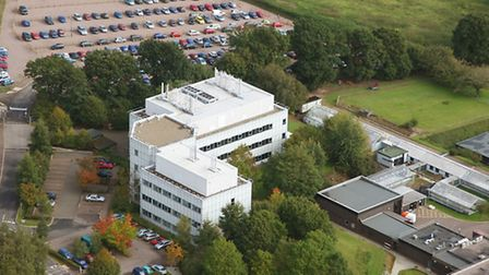 Aerial view of Norwich Research Park. Photo: Mike Page.