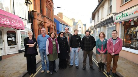 Traders from the east end of Cromer. PHOTO: ANTONY KELLY