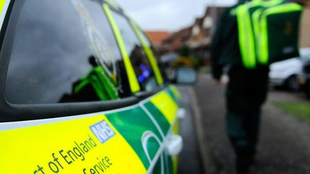 An East of England Ambulance Service NHS Trust rapid response vehicle (RRV).