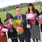 The Host Team(l to r) Sarah Scannell, Carole Ponniah, Karl Hills, Victoria Cook and Bex Day at the f