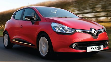 Dynamic-looking new fourth-generation Renault Clio is available only as a five-door but the rear one
