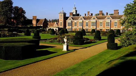 Blickling Hall, pictured by actress Kim Cattrall