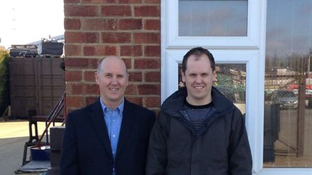 King's Lynn-based family business Losi. Technical sales manager Jim Bell and general sales Ashley Be