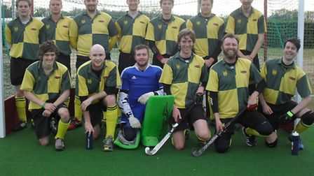 GOING UP: Norwich City face the camera. Back row (l to r): Nick Jones, Stu Wardle, Chris Perry, Chri