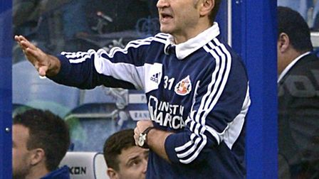 Martin O'Neill watches his side lose to QPR last weekend.
