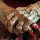 File photo dated 05/12/08 of the hands of an elderly person. The coalition will today announce that