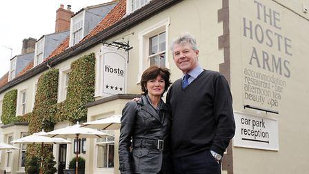 The Hoste Arms in Burnham Market is currently going through a new development, with a new Garden Roo