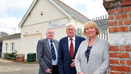 Colville House,Youth club has been saved by new company directors Karen Booth, Alan Denton (left) an