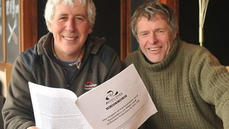 John Bailey and Martin Salter discuss the Angling Trust following their day spent together at Swanto