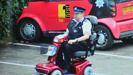 Former PCSO and Beccles Traffic Warden Malcom Brabbin has retired after 27 years of service in the S