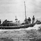 Great Yarmouth and Gorleston Lifeboat. R.N.L.B Louise Stephens.Pictured around the 1950sPicture: Sup