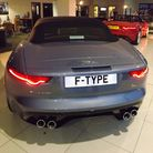 The new F-Type two-seater sports car is launched at H A Fox Jaguar Norwich.