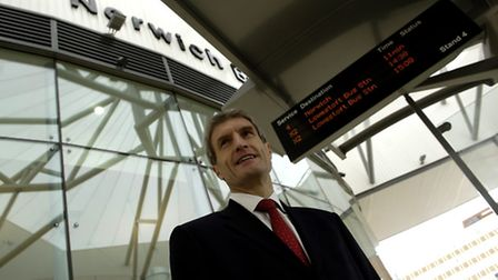 The new Norwich Bus station in Surrey Street will open on Tuesday.John Joyce, head of asset and netw