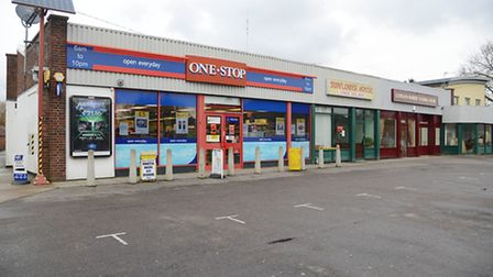 Park where you like! The One Stop shop in Dereham. Picture: Ian Burt