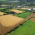 Aerial picture of the proposed site of the Postwick hub. Photo: Mike Page